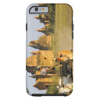 Asia, Myanmar (Burma), Bagan (Pagan). A cart is Tough iPhone 6 Case