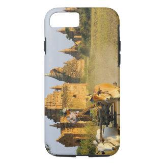 Asia, Myanmar (Burma), Bagan (Pagan). A cart is iPhone 8/7 Case