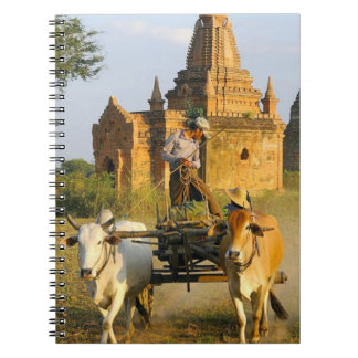 Asia, Myanmar (Burma), Bagan (Pagan). A cart is Notebook