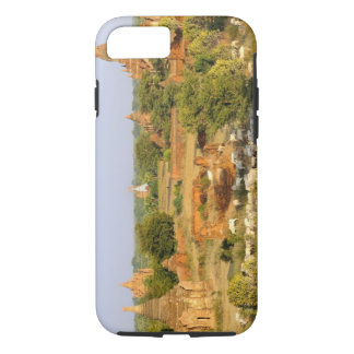 Asia, Myanmar (Burma), Bagan (Pagan). Cows pass iPhone 7 Case