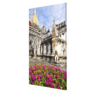 Asia, Myanmar (Burma), Bagan (Pagan). The Ananda Gallery Wrapped Canvas