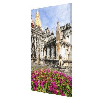 Asia, Myanmar (Burma), Bagan (Pagan). The Ananda Gallery Wrapped Canvas