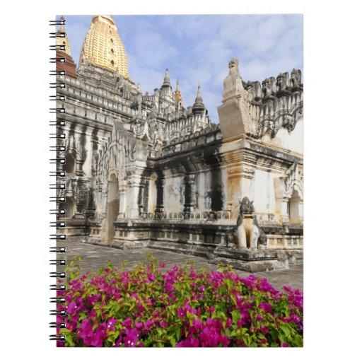 Asia, Myanmar (Burma), Bagan (Pagan). The Ananda Note Book