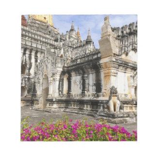 Asia, Myanmar (Burma), Bagan (Pagan). The Ananda Notepad