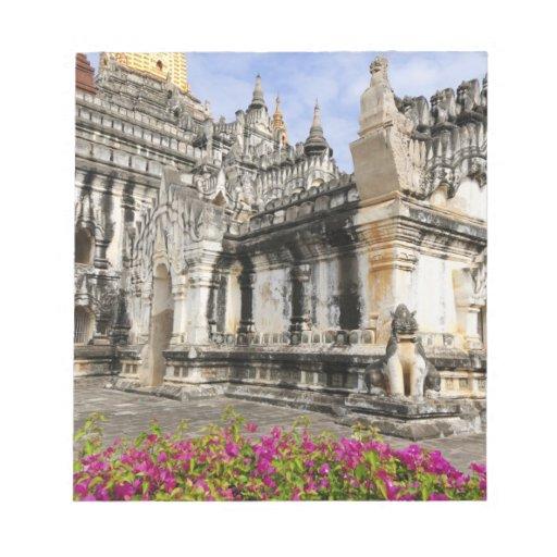 Asia, Myanmar (Burma), Bagan (Pagan). The Ananda Memo Notepads