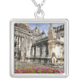 Asia, Myanmar (Burma), Bagan (Pagan). The Ananda Silver Plated Necklace
