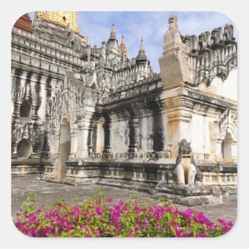 Asia, Myanmar (Burma), Bagan (Pagan). The Ananda Stickers
