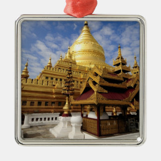 Asia, Myanmar (Burma), Bagan (Pagan). The Shwe 2 Christmas Ornament