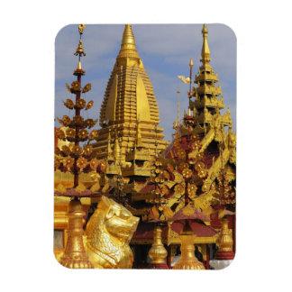 Asia, Myanmar (Burma), Bagan (Pagan). The Shwe 3 Magnet
