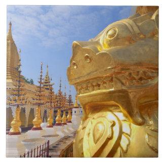 Asia, Myanmar (Burma), Bagan (Pagan). The Shwe 4 Tile
