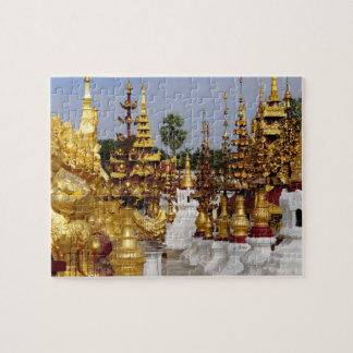 Asia, Myanmar (Burma), Bagan (Pagan). The Shwe 5 Jigsaw Puzzle