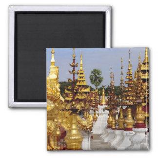 Asia, Myanmar (Burma), Bagan (Pagan). The Shwe 5 Magnet