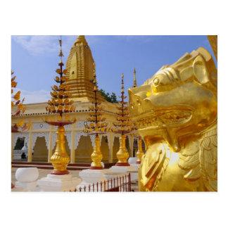 Asia, Myanmar (Burma), Bagan (Pagan). The Shwe 6 Postcard