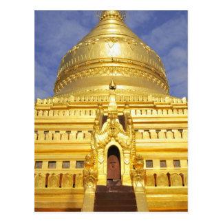 Asia, Myanmar (Burma), Bagan (Pagan). The Shwe Postcard