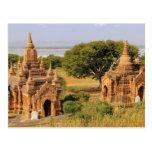 Asia, Myanmar (Burma), Bagan (Pagan). Various 2 Post Card