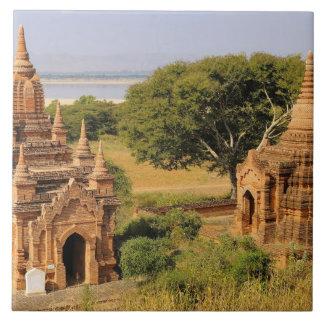 Asia, Myanmar (Burma), Bagan (Pagan). Various 2 Tile