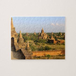 Asia, Myanmar (Burma), Bagan (Pagan). Various Jigsaw Puzzle
