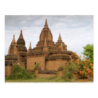Asia, Myanmar Burma), Bagan Pagan). Various Postcard