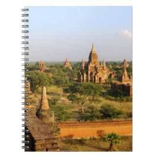 Asia, Myanmar (Burma), Bagan (Pagan). Various Spiral Notebook