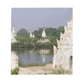 Asia, Myanmar (Burma), Mandalay. A buddhist Notepad