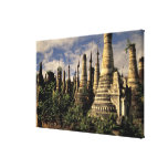 Asia, Myanmar, Inle Lake. Ancient ruins of Gallery Wrapped Canvas