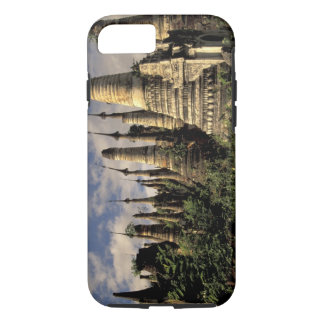 Asia, Myanmar, Inle Lake. Ancient ruins of iPhone 8/7 Case