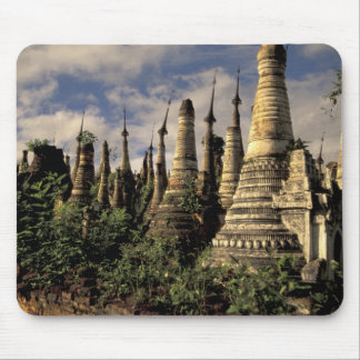 Asia, Myanmar, Inle Lake. Ancient ruins of Mouse Pad