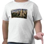 Asia, Myanmar, Inle Lake. Ancient ruins of Tee Shirts