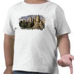 Asia, Myanmar, Inle Lake. Ancient ruins of Tee Shirt