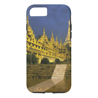 Asia, Myanmar, Yangon. Shwedagon Pagoda at iPhone 8/7 Case