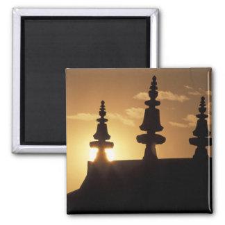 Asia, Nepal, Kathmandu. Bouddhanath Stupa. Magnet