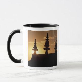 Asia, Nepal, Kathmandu. Bouddhanath Stupa. Mug