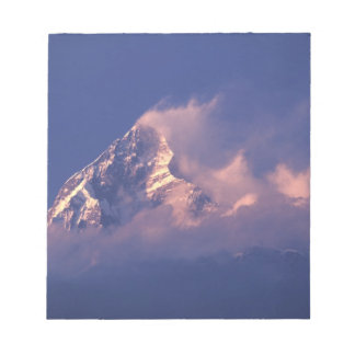 Asia, Nepal. Machhapuchhare Notepad