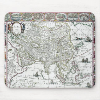 Asia noviter delineata, 1617 mouse mat