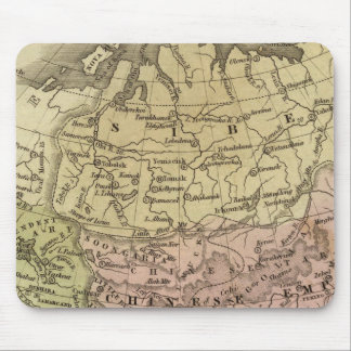 Asia Olney Map Mouse Mat