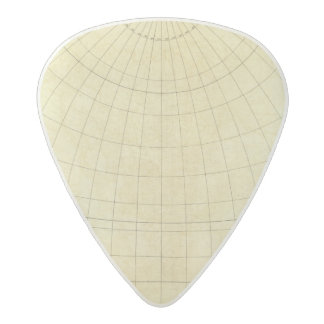 Asia Outline Acetal Guitar Pick
