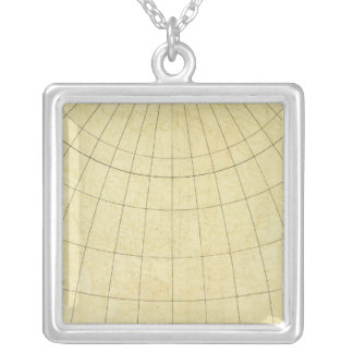 Asia Outline Silver Plated Necklace