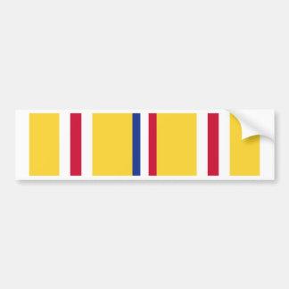Asia-Pacific Campaign Ribbon Bumper Sticker