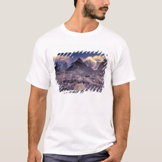 Asia, Pakistan, Karakoram Range, Broad and T-Shirt