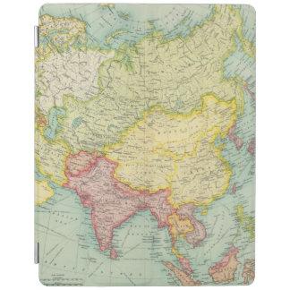 Asia political atlas map iPad cover