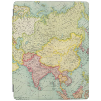 Asia political atlas map iPad smart cover