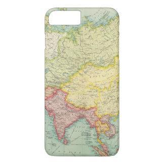 Asia political atlas map iPhone 8 plus/7 plus case