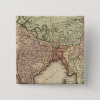 Asia, S sheets 15 Cm Square Badge
