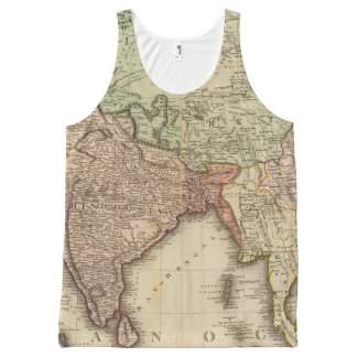 Asia, S sheets All-Over Print Tank Top