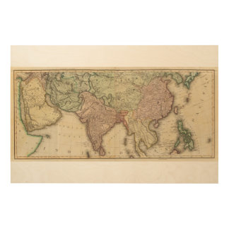 Asia, S sheets Wood Wall Decor