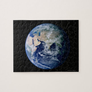 Asia Seen from Space Jigsaw Puzzle