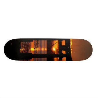 Asia Sunset Custom Skateboard