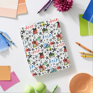 Asia | Symbols Pattern iPad Cover