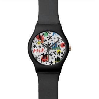 Asia | Symbols Pattern Watch