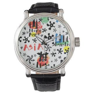 Asia | Symbols Pattern Wrist Watches